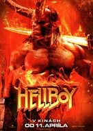 Hellboy - Slovak Movie Poster (xs thumbnail)