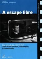 Échappement libre - Spanish DVD cover (xs thumbnail)