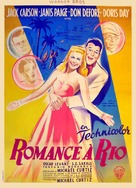 Romance on the High Seas - French Movie Poster (xs thumbnail)