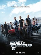 Furious 6 - French Movie Poster (xs thumbnail)