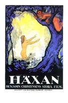 Häxan - Swedish Movie Poster (xs thumbnail)