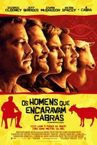 The Men Who Stare at Goats - Brazilian Movie Poster (xs thumbnail)