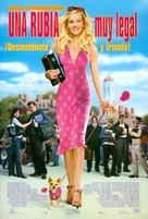 Legally Blonde - Spanish Movie Poster (xs thumbnail)