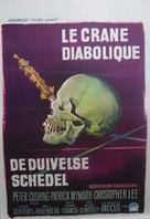 The Skull - Belgian Movie Poster (xs thumbnail)