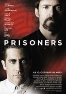 Prisoners - German Movie Poster (xs thumbnail)