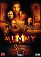 The Mummy Returns - Danish DVD cover (xs thumbnail)