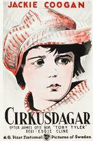 Circus Days - Swedish Movie Poster (xs thumbnail)