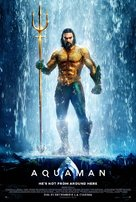 Aquaman - Romanian Movie Poster (xs thumbnail)
