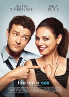 Friends with Benefits - Slovak Movie Poster (xs thumbnail)
