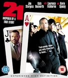 21 - British Blu-Ray movie cover (xs thumbnail)