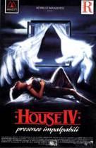 House IV - Italian VHS cover (xs thumbnail)