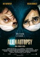 Alien Autopsy - Italian Movie Poster (xs thumbnail)
