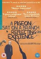 En duva satt på en gren och funderade på tillvaron - British DVD cover (xs thumbnail)