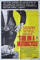 The Girl on a Motocycle - British Movie Poster (xs thumbnail)