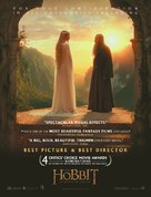 The Hobbit: An Unexpected Journey - For your consideration movie poster (xs thumbnail)