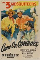 Come On, Cowboys! - Re-release poster (xs thumbnail)