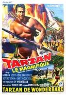 Tarzan the Magnificent - Belgian Movie Poster (xs thumbnail)