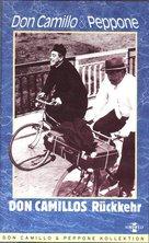 Le retour de Don Camillo - German VHS cover (xs thumbnail)