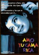 Amo tu cama rica - Spanish poster (xs thumbnail)