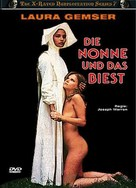 Suor Emanuelle - German DVD cover (xs thumbnail)
