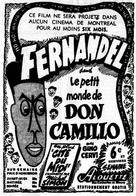 Le Petit monde de Don Camillo - Canadian Movie Poster (xs thumbnail)