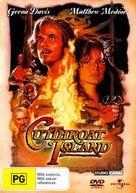 Cutthroat Island - Australian DVD movie cover (xs thumbnail)