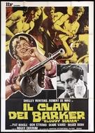 Bloody Mama - Italian Movie Poster (xs thumbnail)