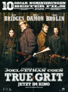 True Grit - German Movie Poster (xs thumbnail)