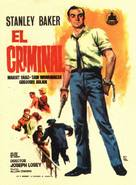 The Criminal - Spanish Movie Poster (xs thumbnail)