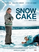Snow Cake - French Movie Poster (xs thumbnail)