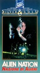 Alien Nation - Italian VHS movie cover (xs thumbnail)