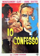 I Confess - Italian Theatrical poster (xs thumbnail)
