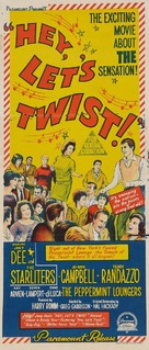 Hey, Let's Twist - Australian Movie Poster (xs thumbnail)