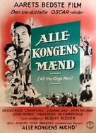 All the King's Men - Danish Movie Poster (xs thumbnail)