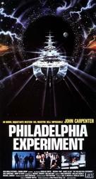 The Philadelphia Experiment - Italian Movie Poster (xs thumbnail)