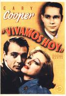 Today We Live - Spanish Movie Poster (xs thumbnail)