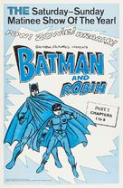 Batman and Robin - Re-release movie poster (xs thumbnail)