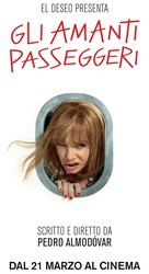 Los amantes pasajeros - Italian Movie Poster (xs thumbnail)