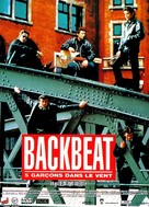 Backbeat - French Movie Poster (xs thumbnail)
