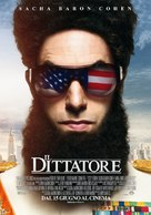 The Dictator - Italian Movie Poster (xs thumbnail)
