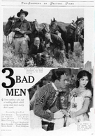 3 Bad Men - Movie Poster (xs thumbnail)