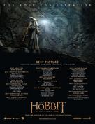 The Hobbit: The Desolation of Smaug - For your consideration movie poster (xs thumbnail)