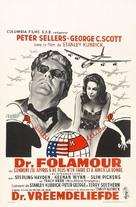 Dr. Strangelove - Belgian Movie Poster (xs thumbnail)