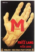M - French Movie Poster (xs thumbnail)