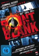 À bout portant - German DVD cover (xs thumbnail)