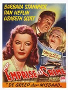 The Strange Love of Martha Ivers - Belgian Movie Poster (xs thumbnail)