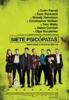 Seven Psychopaths - Spanish Movie Poster (xs thumbnail)