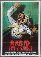 Rabid - Italian Movie Poster (xs thumbnail)