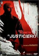 The Equalizer - Argentinian DVD movie cover (xs thumbnail)