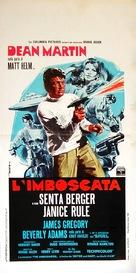 The Ambushers - Italian Movie Poster (xs thumbnail)